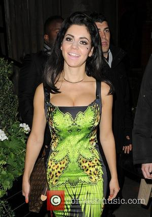 Marina Diamandis aka Marina and the Diamonds leaving the Attitude Magazine Awards held at One Mayfair London, England - 17.10.12