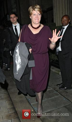 Clare Balding leaving the Attitude Magazine Awards held at One Mayfair London, England - 17.10.12