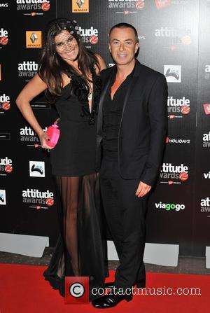 Julien MacDonald and Grace Woodward Attitude Magazine Awards held at One Mayfair - Arrivals. London, England - 16.10.12