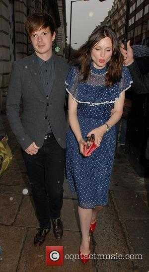 Richard Jones and Sophie Ellis-Bextor,  at the VIP launch of Audi Digital Store at Audi City London, England -...