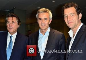 Bryan Ferry and Clive Owen with the Head of Audi VIP launch of Audi Digital Store at Audi City -...