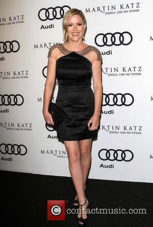 Kathleen Robertson and Golden Globe