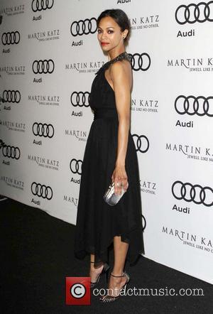 Zoe Saldana and Golden Globe