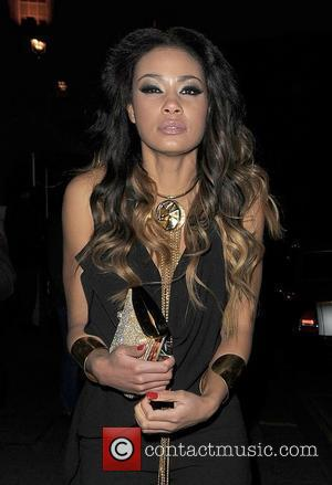 Layla Flaherty leaving Aura nightclub. London, England - 08.02.12