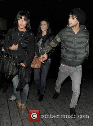 'Gossip Girl' star Jessica Szohr leaving Aura nightclub. London, England - 19.01.12