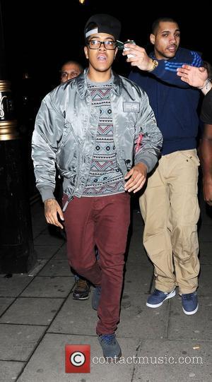 Chipmunk leaving Aura nightclub london, England - 11.04.12