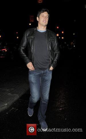 Vernon Kay leaving Aura nightclub at 3.45am. London, England - 12.07.12