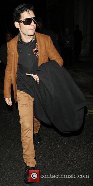 Cory Feldman leaving Aura nightclub London, England - 09.02.12