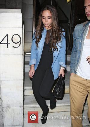 Chloe Green Celebrities outside Aura nightclub in London London, England - 07.03.12