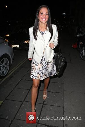 Tulisa Contostavlos and Aura Nightclub