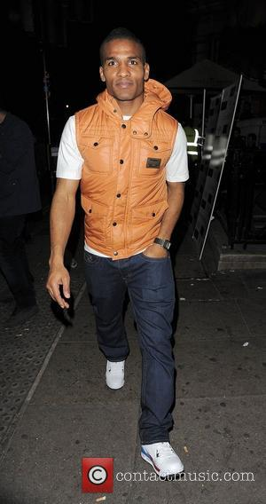 Chelsea FC footballer Florent Malouda, leaving Aura nightclub at 3.30am with other members of the team, following their 4-1 win...