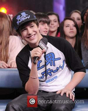 Austin Mahone   interview and performance on Much Music's NEW.MUSIC.LIVE.   Toronto, Canada - 03.12.12