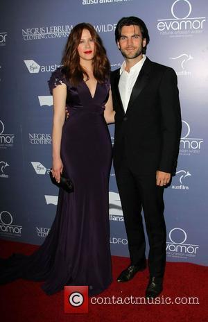 Anna McGahan, Wes Bentley Australians In Film Awards & Benefit Dinner 2012 held at The InterContinental Hotel - Arrivals...