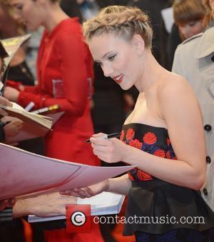 Scarlett Johansson and Avengers