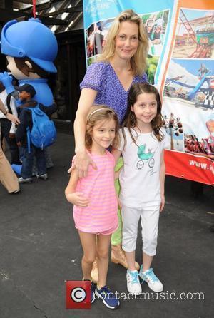 Photo of Alexandra Wentworth & her Daughter  Elliott Anastasia Stephanopoulos