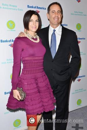 Jessica Seinfeld and Jerry Seinfeld Baby Buggy 10th Anniversary Gala at Avery Fisher Hall, Lincoln Center New York City, USA...