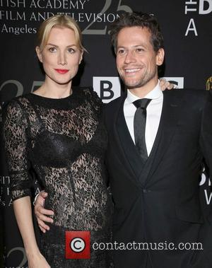 Ioan Gruffud, Alice Evans and Beverly Hilton Hotel