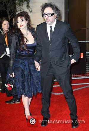 Tim Burton and Helena Bonham Carter Orange British Academy Film Awards (BAFTAs) afterparty held at The Grosvenor House Hotel -...