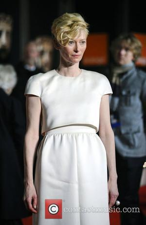 Tilda Swinton,  Orange British Academy Film Awards (BAFTAs) afterparty held at The Grosvenor House Hotel - Outside Arrivals London,...