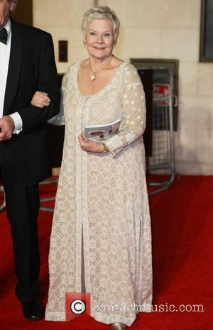 Dame Judy Dench Orange British Academy Film Awards (BAFTAs) afterparty held at The Grosvenor House Hotel - Outside Arrivals London,...