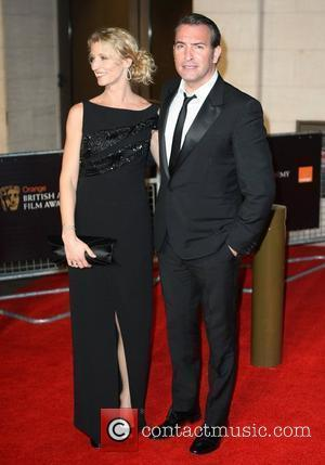 Jean Dujardin and Alexandra Lamy Orange British Academy Film Awards (BAFTAs) afterparty held at The Grosvenor House Hotel - Outside...