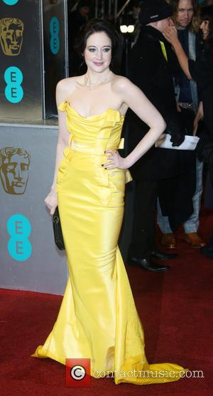 Andrea Riseborough The 2013 EE British Academy Film Awards held at the Royal Opera House - Arrivals  Featuring: Andrea...