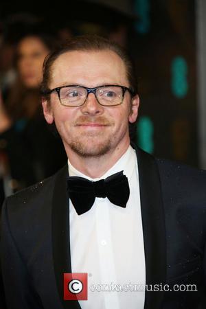 Simon Pegg and British Academy Film Awards