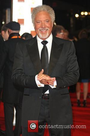 Tom Jones Orange British Academy Film Awards (BAFTAs) held at the Royal Opera House - Arrivals London, England - 12.02.12