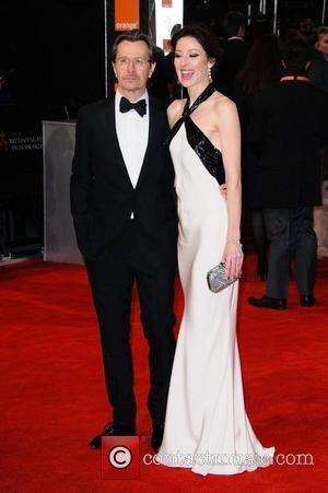 Gary Oldman and Alexandra Edenborough Orange British Academy Film Awards (BAFTAs) held at the Royal Opera House - Arrivals London,...
