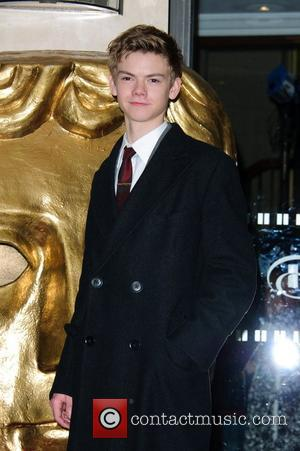 Thomas Sangster British Academy Children's Awards held at the London Hilton Park Lane - Arrivals London, England - 25.11.12