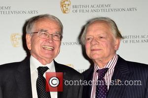 Sir David Jason and Brian Cosgrove British Academy Children's Awards held at the London Hilton Park Lane - Press Room...