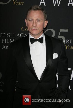Daniel Craig and Beverly Hilton Hotel