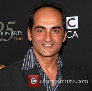 Navid Negahban BAFTA Los Angeles TV Tea 2012 presented by BBC America - Arrivals Los Angeles, California - 22.09.12