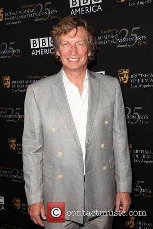 Nigel Lythgoe BAFTA Los Angeles TV Tea 2012 presented by BBC America - Arrivals Los Angeles, California - 22.09.12