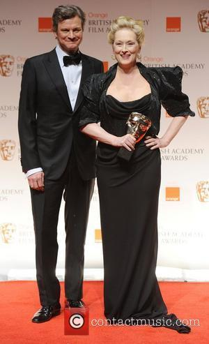 Colin Firth, Meryl Streep and Bafta