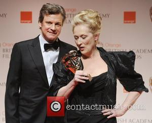 Colin Firth and Meryl Streep,  Orange British Academy Film Awards (BAFTAs) held at the Royal Opera House - Press...