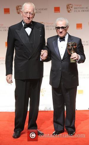 Max Von Sydow, Martin Scorsese and Bafta