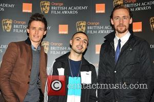 Eddie Redmayne, Adam Deacon, Tom Hiddleston and Bafta