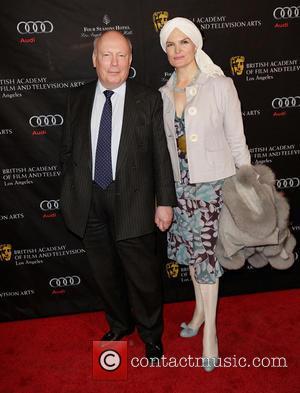 Julian Fellowes and Emma Fellowes BAFTA Los Angeles 2013 Awards Season Tea Party held at the Four Seasons Hotel Los...