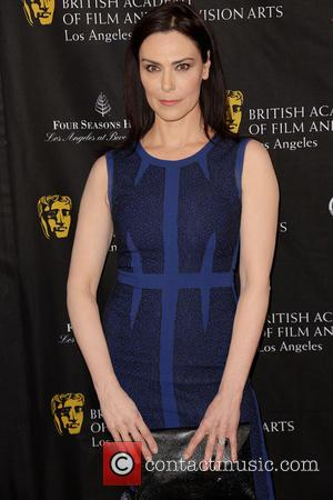Michelle Forbes BAFTA Los Angeles 2013 Awards Season Tea Party held at the Four Seasons Hotel Los Angeles  Featuring:...