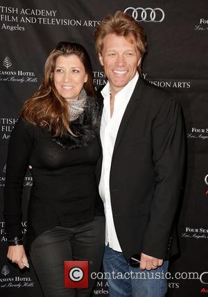 Dorothea Hurley and Jon Bon Jovi BAFTA Los Angeles 2013 Awards Season Tea Party held at the Four Seasons Hotel...