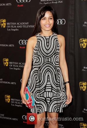 Freida Pinto BAFTA Los Angeles 2013 Awards Season Tea Party held at the Four Seasons Hotel  Featuring: Freida Pinto...