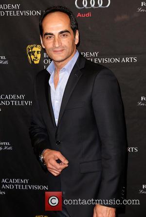 Navid Negahban BAFTA Los Angeles 2013 Awards Season Tea Party held at the Four Seasons Hotel Los Angeles  Featuring:...