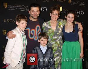 Andy Serkis and his family BAFTA Los Angeles 18th Annual Awards Season Tea Party held at the Four Seasons Hotel...