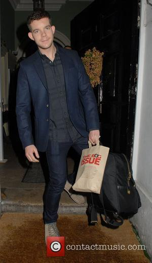 Russell Tovey,  at the launch of 'The Bag Issue' at The House of St. Barnabas - Departures London, England...