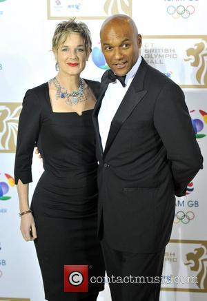 Colin Salmon and Fiona Hawthorne BT British Olympic Ball held at the Grosvenor House - Arrivals. London, England - 30.11.12