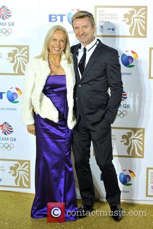 Jayne Torvill and Christopher Dean BT British Olympic Ball held at the Grosvenor House - Arrivals. London, England - 30.11.12