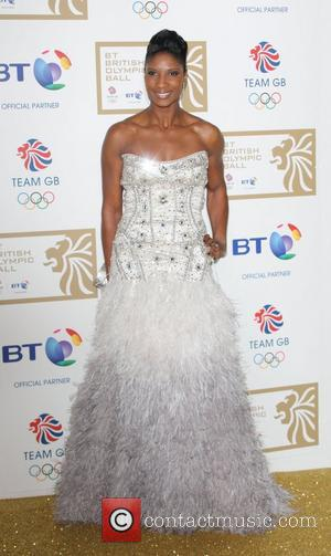 Denise Lewis BT British Olympic Ball held at the Grosvenor House - Arrivals London, England - 30.11.12