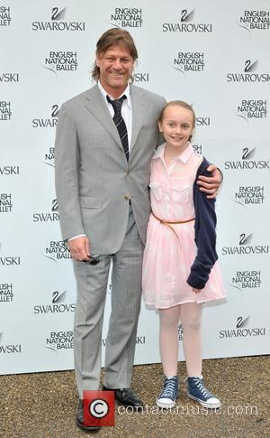 Sean Bean and guest English National Ballet - summer party held at Kensington Palace - Arrivals. London, England - 27.06.12