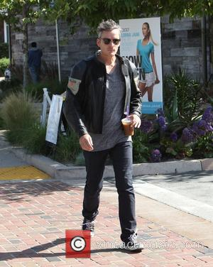 Balthazar Getty  leaving Starbucks in Malibu with a Frappuccino Los Angeles, California - 05.05.12